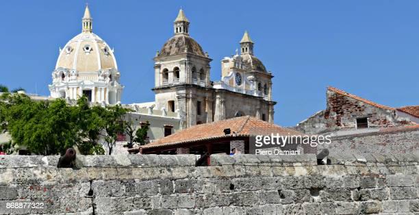 the walled city of cartagena de indias - unesco stock-fotos und bilder