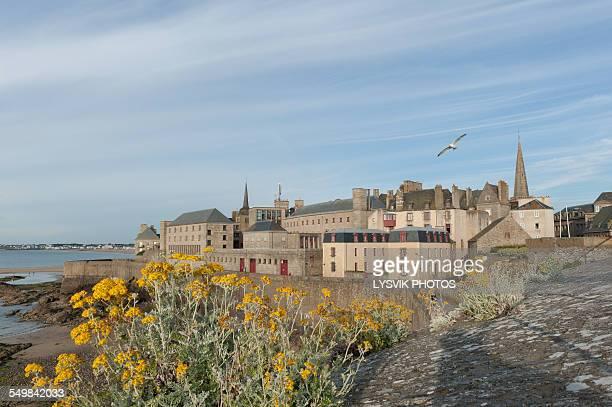 The walled city Saint-Malo