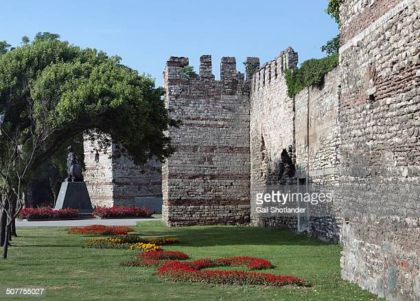 CONTENT] The Walls of Constantinople are a series of defensive stone walls that have surrounded and protected the city of Constantinople since its...