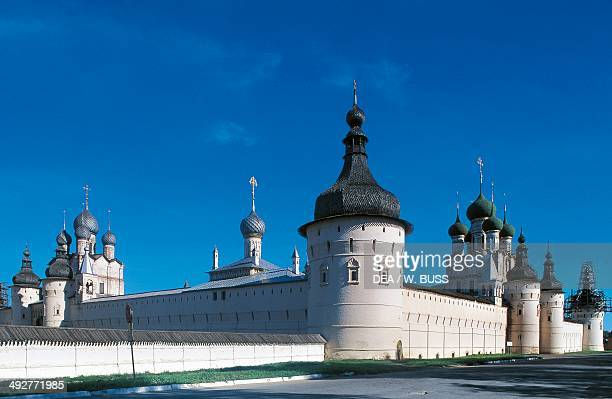 The walls of the Kremlin 16701683 RostovVeliky Golden Ring Russia