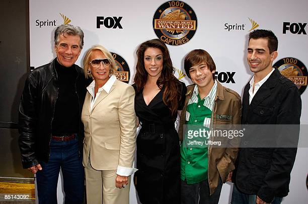 The Walsh family John Reve Meghan and Hayen Van Halent America's Most Wanted Night of a Thousand Captures on May 14 2008 at Arena NYC in New York City