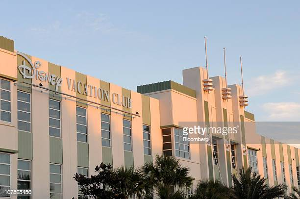The Walt Disney Co Vacation Club office building stands in Celebration Florida US on Tuesday Dec 7 2010 Walt Disney Co built Celebration as an...