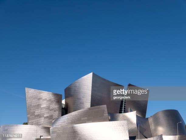 the walt disney concert hall in la - walt disney concert hall stock pictures, royalty-free photos & images