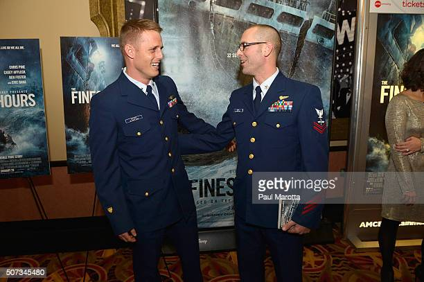 The Walt Disney Studios hosted a special 3D IMAX Screening of the Finest Hours for the US Coast Guard and local family friends and supporters of the...