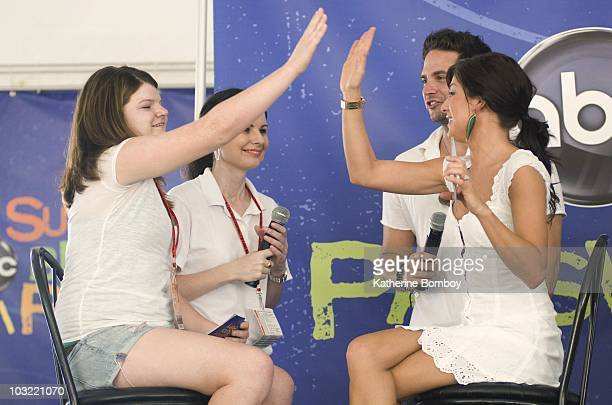FESTIVAL The Walt Disney Television via Getty Images Summer Block Party is back and ready to rock at the CMA Music Festival in Nashville The party...