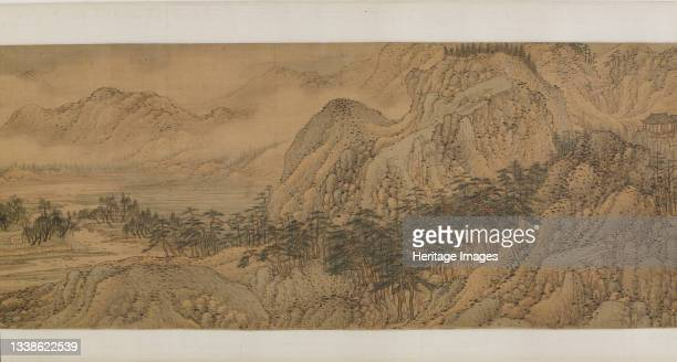 The Wang River Estate, Ming dynasty, 1570s. Attributed to Song Xu. Formerly attributed to Wang Meng. Artist Song Xu.