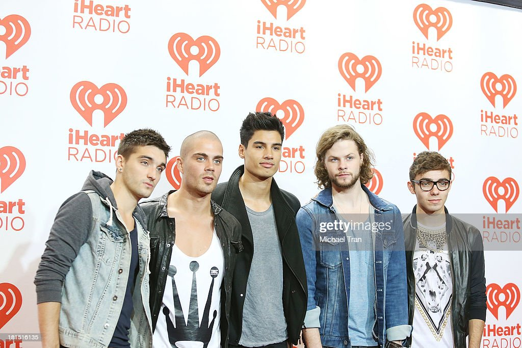 The Wanted arrive at the iHeartRadio Music Festival - press room - Day 2 held on September 21, 2013 in Las Vegas, Nevada.