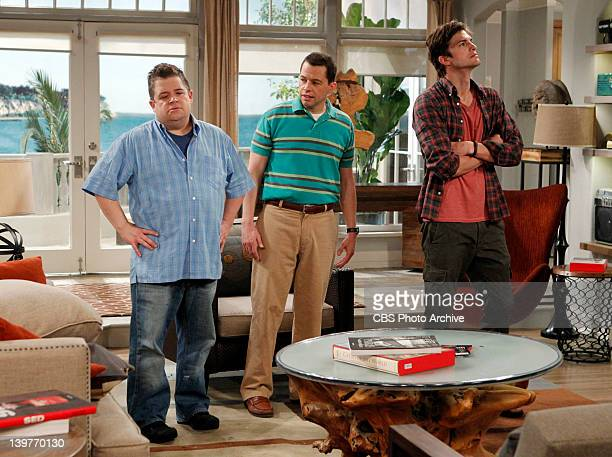 The War Against Gingivitis Alan and Walden with Walden's estranged exbusiness partner on TWO AND A HALF MEN Monday Feb 27 on the CBS Television...