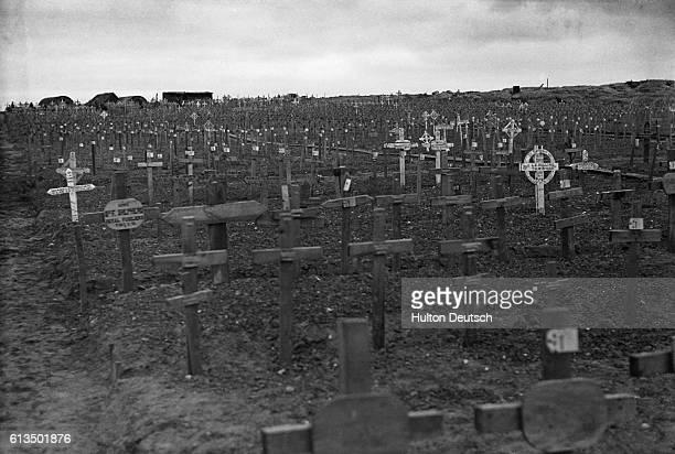 The war cemetery in Ypres Belgium | Location Menin Ypres Belgium