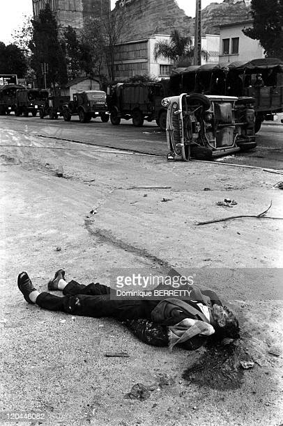 The War In Algeria - French victim.