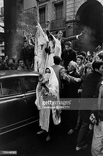 The War In Algiers Algeria In 1960 Riots in Algiers Emeutes