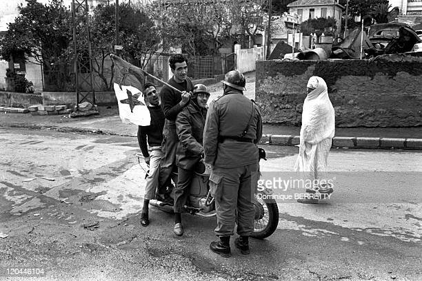 The War In Algiers Algeria In 1960 Riots in Algiers Emeutes
