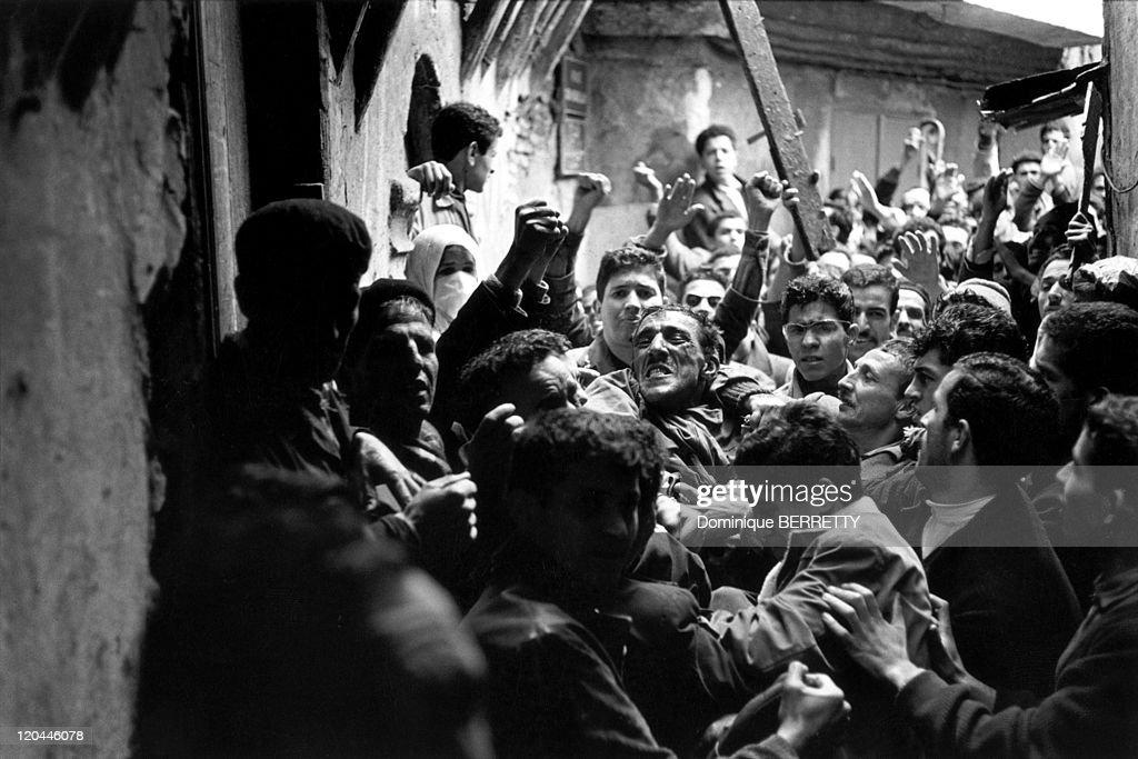 The War In Algiers, Algeria In 1960 - : News Photo