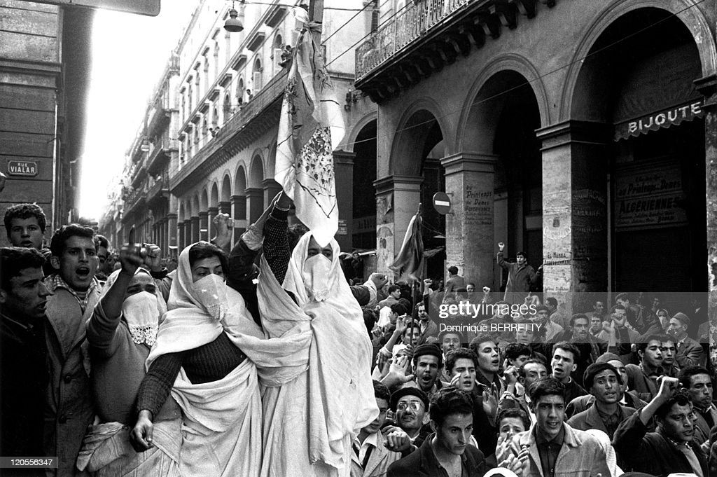 The War In Algiers, Algeria In 1960 - : Foto jornalística