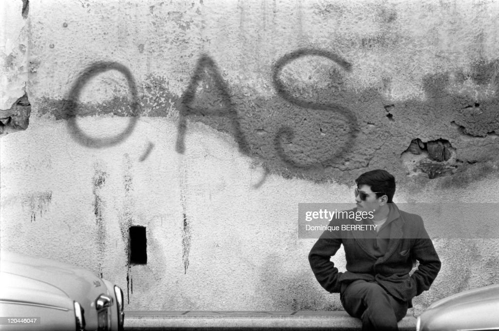 The War In Algiers, Algeria In 1962 - : News Photo
