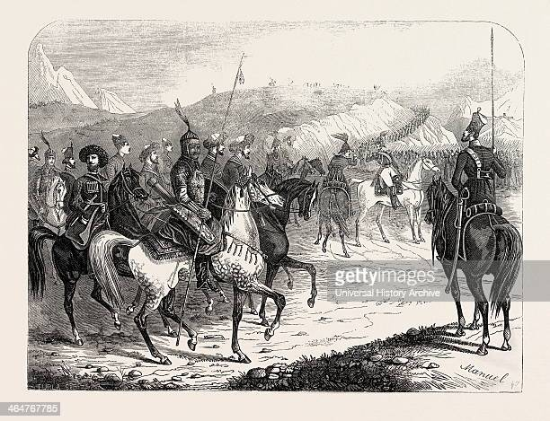 Assembling Of Russian Troops For The Campaign Of The Caucasus 1846