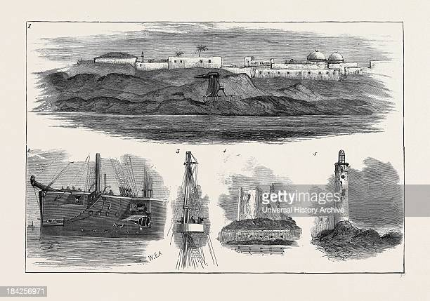 After The Bombardment Of Alexandria July 11 1882 1 Rifled Guns On Moncrieff Carriages In The Fortifications 2 Damage Sustained By HMS 'Superb' During...