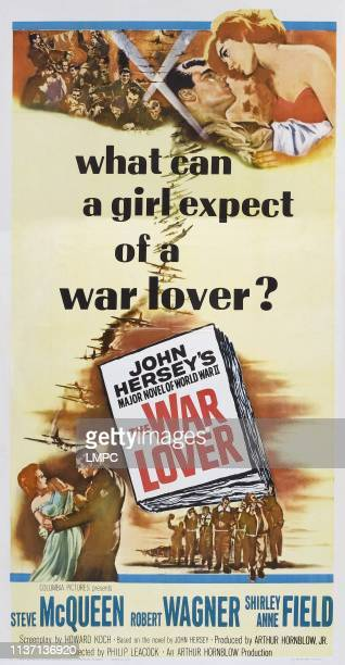 Robert Wagner Shirley Anne Field on poster art 1962
