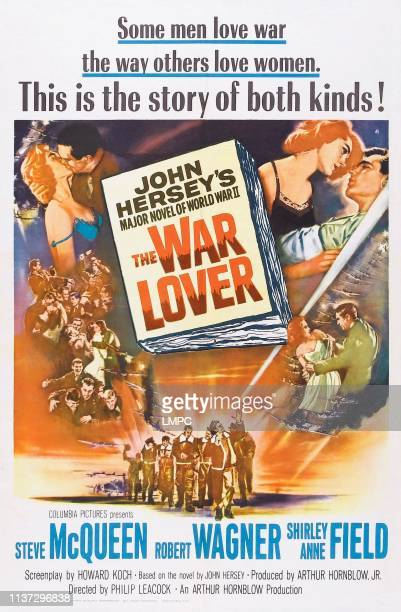 The War Lover poster US poster art top right Shirley Anne Field Robert Wagner 1962