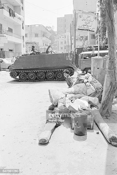 The war of factions was started by Shiite Amal Militia opposed to Palestinians loyal to the PLO
