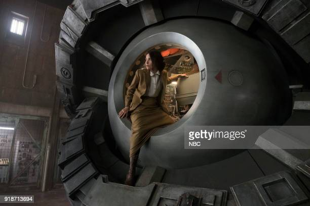 TIMELESS The War to End All Wars Episode 201 Pictured Abigail Spencer as Lucy Preston