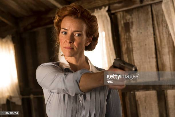 TIMELESS The War to End All Wars Episode 201 Pictured Anne Wersching as Emma