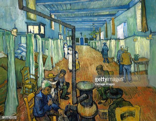 The Ward in the Hospital at Arles Found in the Collection of Museum Oskar Reinhart Winterthur