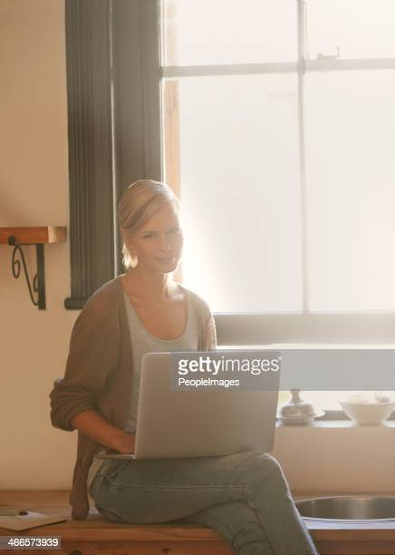 The warmest place to work at home