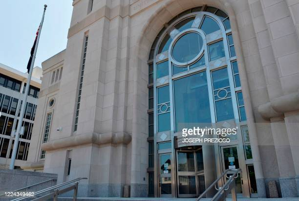 The Warren B Rudman United States Courthouse in Concord New Hampshire on July 2 2020 Ghislaine Maxwell the former girlfriend of late financier...