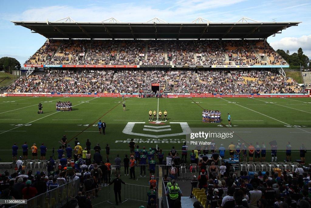 NRL Rd 1 - Warriors v Bulldogs : News Photo