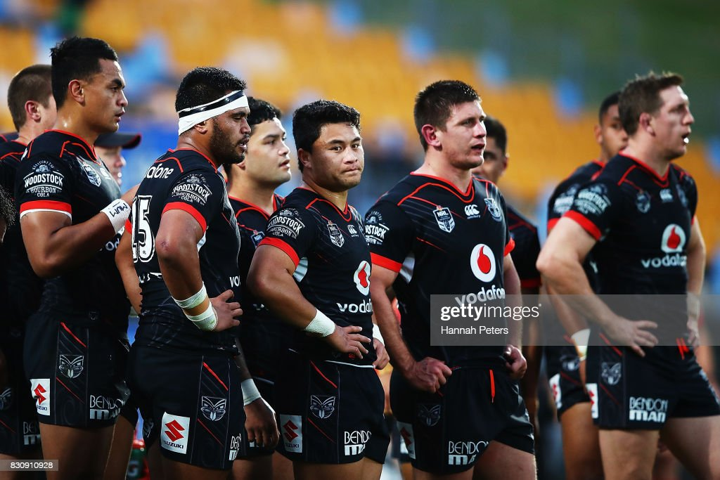 NRL Rd 23 - Warriors v Raiders : News Photo