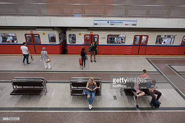 The Warsaw Metro is the first subway system built in Poland It was opened in 1995 There are currently 21 metro stations in Warsaw The daily average...