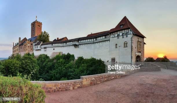 the wartburg, eisenach, germany (unesco world heritage) - アイゼナッハ ストックフォトと画像