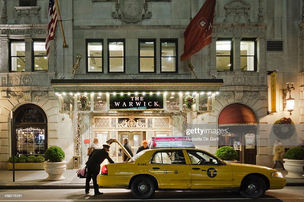 The Warwick Hotel, New York : Stock Photo