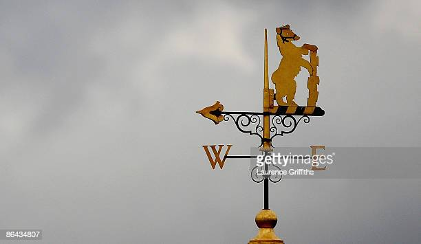 The Warwickshire weather vane during the LV County Championship Division One match between Warwickshire and Yorkshire at Edgbaston on May 6 2009 in...