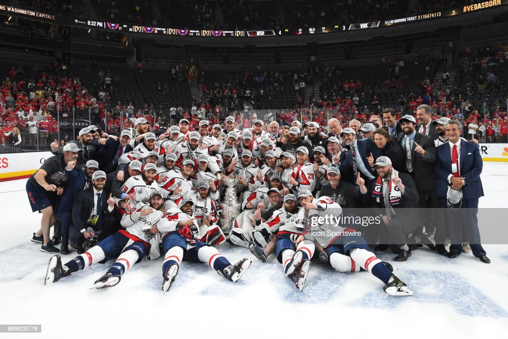 NHL: JUN 07 Stanley Cup Final Game 5 - Capitals at Golden Knights : News Photo