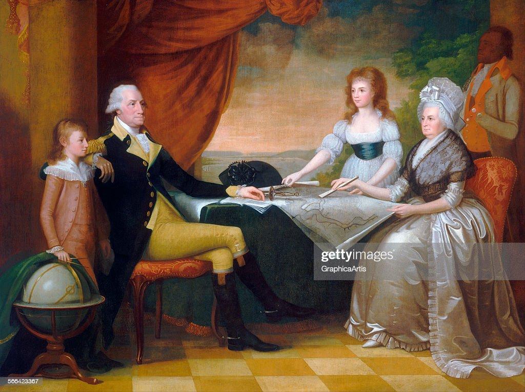 Washington Family By Savage : News Photo