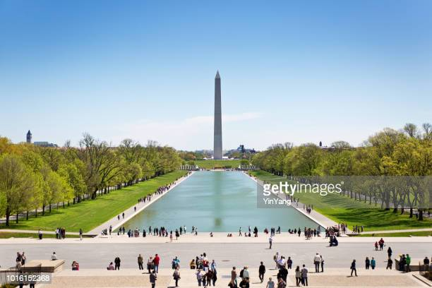 the washington monument in washington dc - washington dc stock pictures, royalty-free photos & images