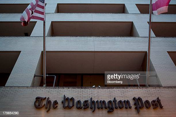 The Washington Post Co headquarters stands in Washington DC US on Monday Aug 5 2013 Amazoncom Inc Chief Executive Officer Jeff Bezos agreed to buy...