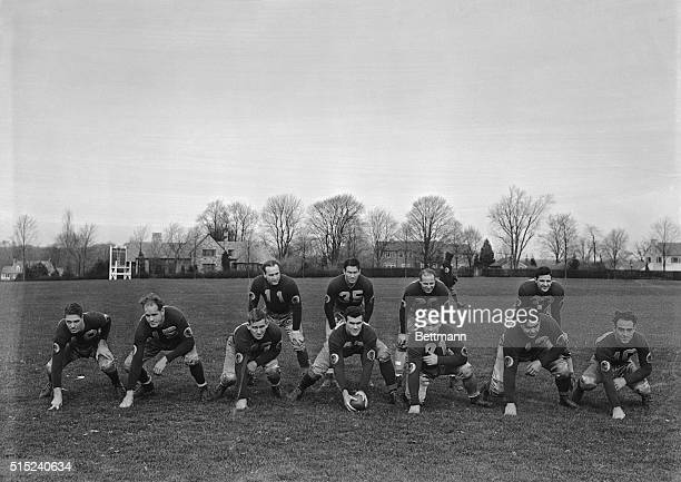 The Washington Redskins, who will play the New York Football Giants for the Eastern Professional championship in the Polo Grounds, New York City,...
