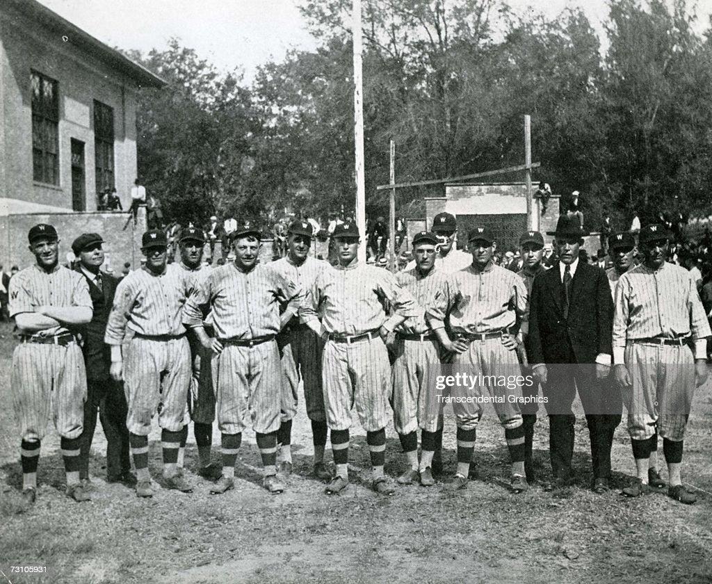 Washington Senators Spring Training 1915 : News Photo