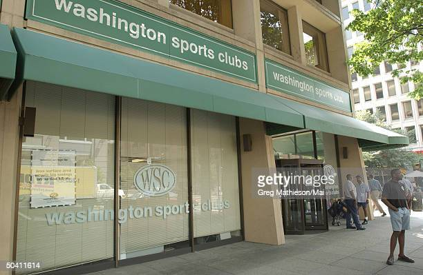 The Washington Sports Club at which missing intern Chandra Levy reportedly worked out and was one of the last places she was seen