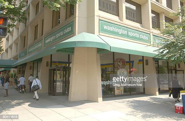 The Washington Sports Club at which missing intern Chandra Levy reportedly worked out and was one of the last places she was seen.