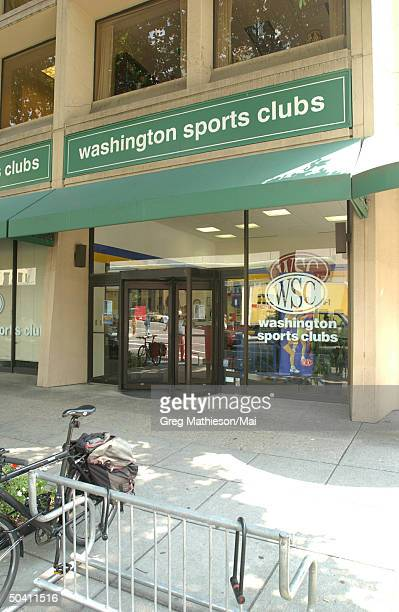 The Washington Sports Club, in which missing intern Chandra Levy reportedly worked out and was one of the last places she was seen.