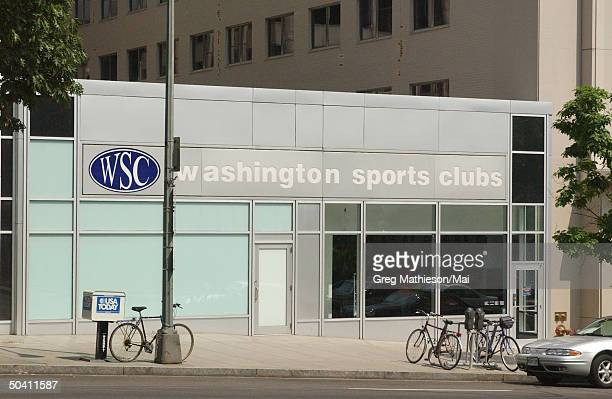The Washington Sports Club where missing intern Chandra Levy reportedly worked out and was one of the last places she was seen