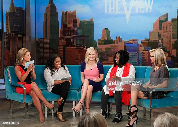 THE VIEW The Washington Times senior editor Emily Miller guest cohosts Emmy nominee Taylor Schilling brides from the reality series 'Married at First...