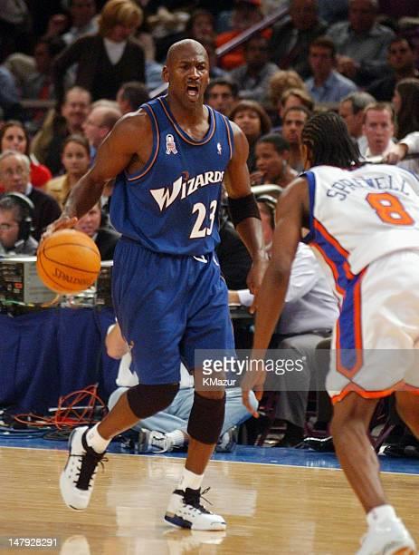 The Washington Wizards Michael Jordan The New York Knicks Latrell Sprewell