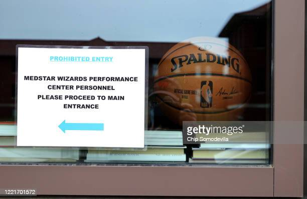 The Washington Wizards' practice facility part of the 118000squarefoot multipurpose events facility on the St Elizabeths East Campus remains closed...
