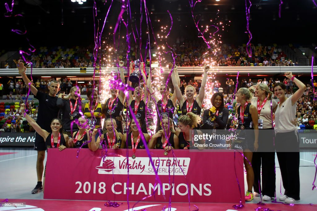Vitality Netball Superleague Grand Final : News Photo