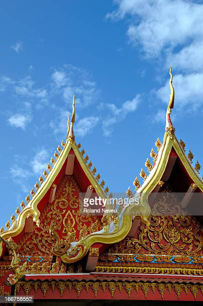 The Wat Sen pagoda in Vientiane..